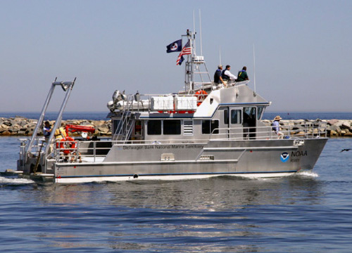 NOAA Research Vessel